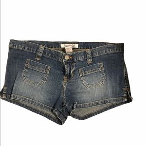Mini Denim Shorts Front Pockets by Abercrombie 4